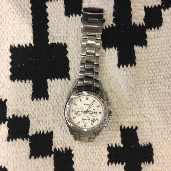 Zovatti Other - Zovatti silver link men's watch